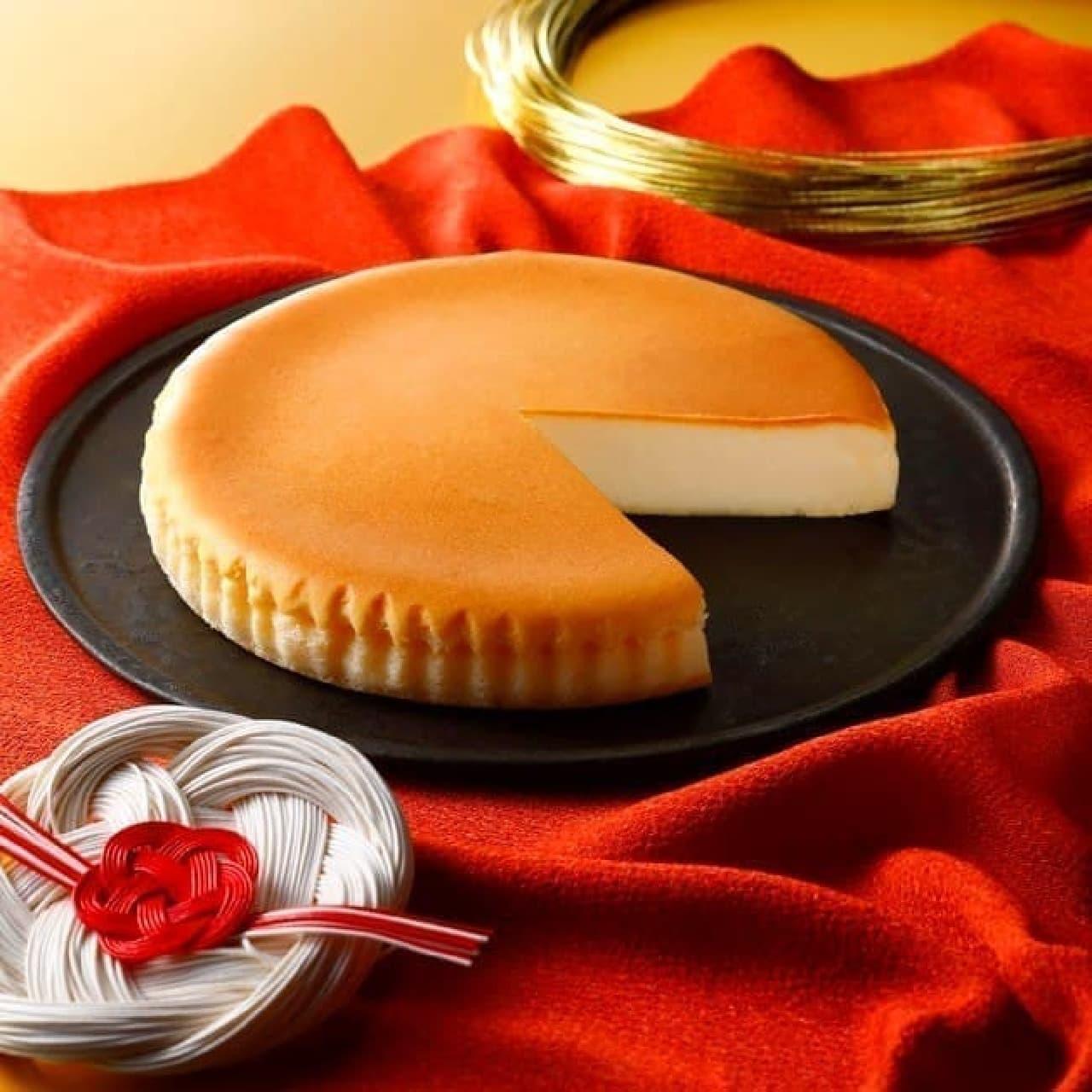 チーズガーデン「御用邸チーズケーキ」の「迎春」御用邸特別パッケージ