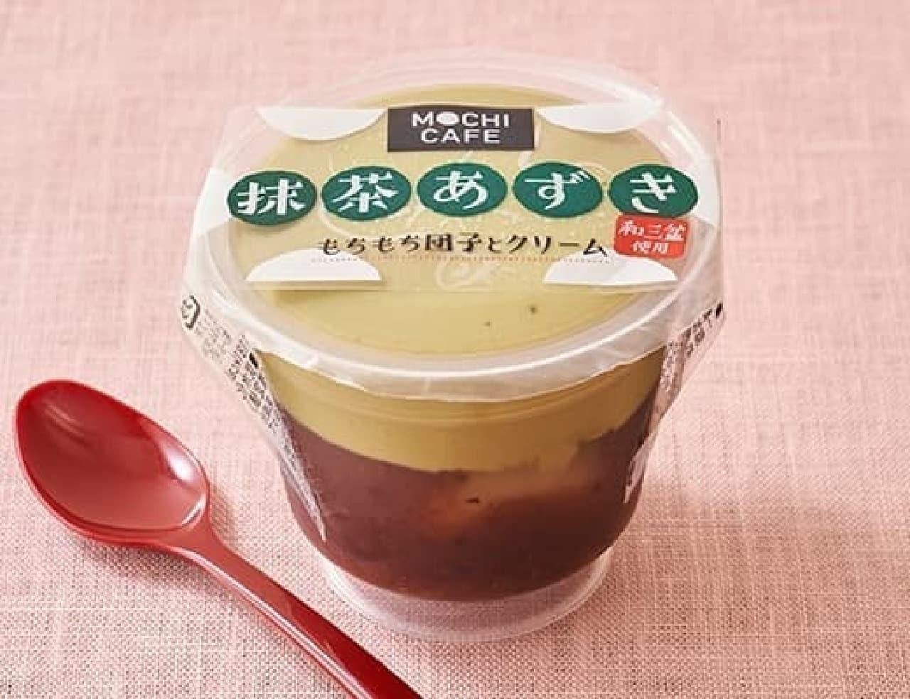 徳島産業 もちカフェ 抹茶あずき 120g