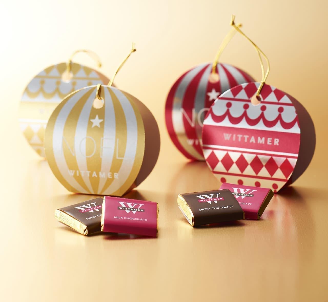 ヴィタメールにクリスマス限定ショコラ