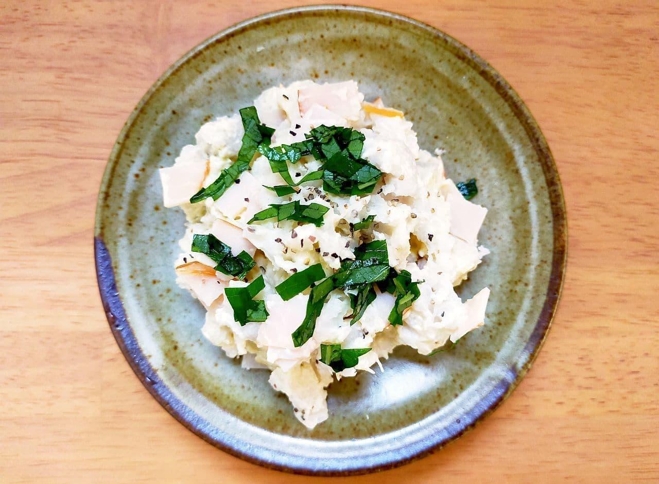 里芋ポテトサラダのレシピ