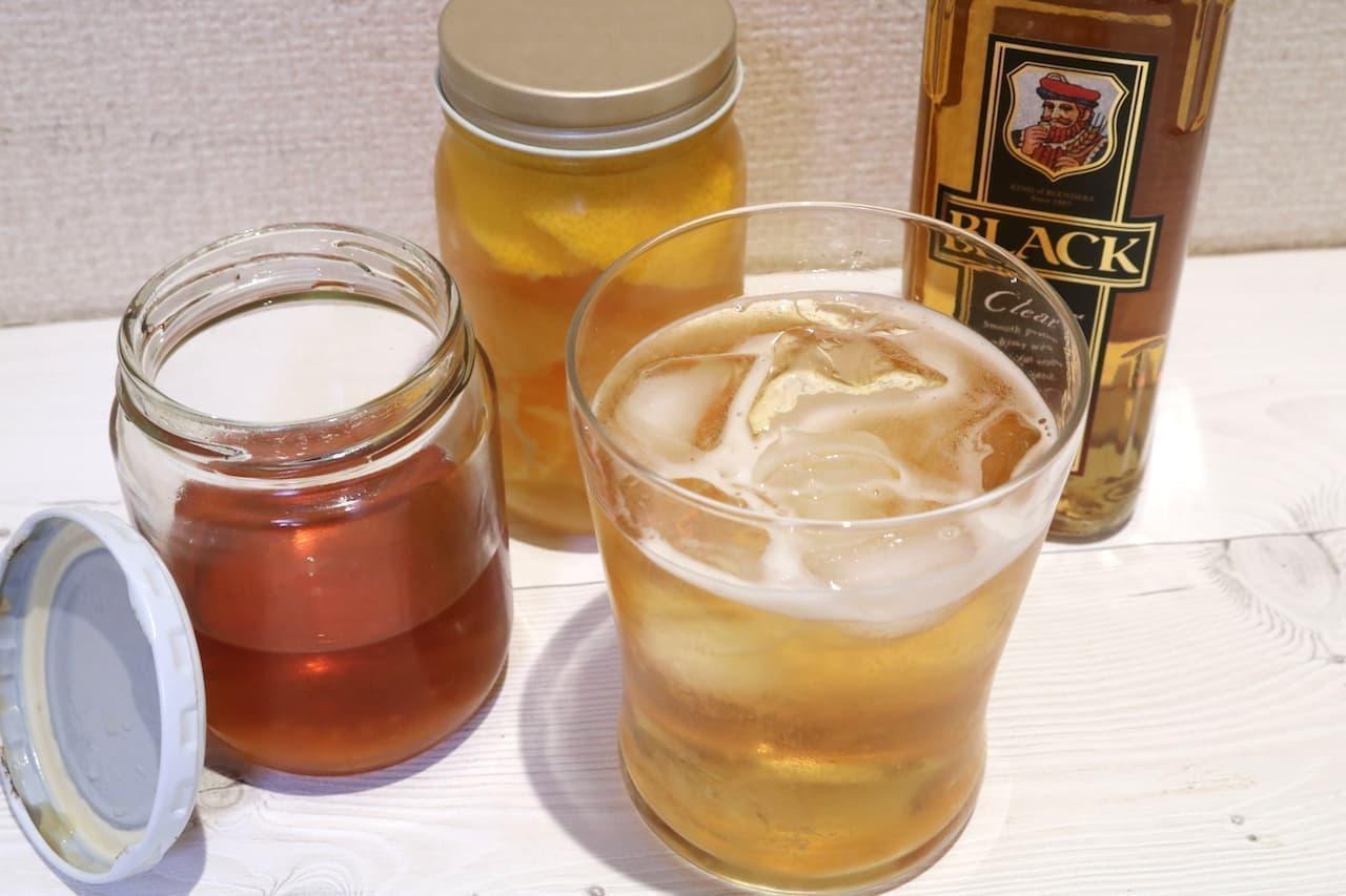 レシピ「漬け込みウイスキー」