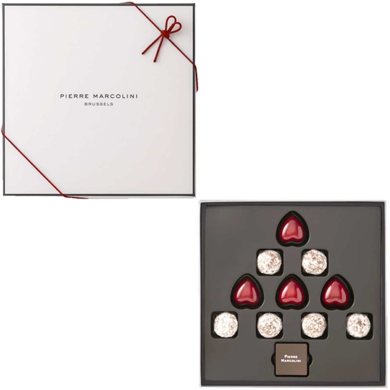 ピエール マルコリーニに「クリスマスコレクション」やカカオ入り「シュトーレン」