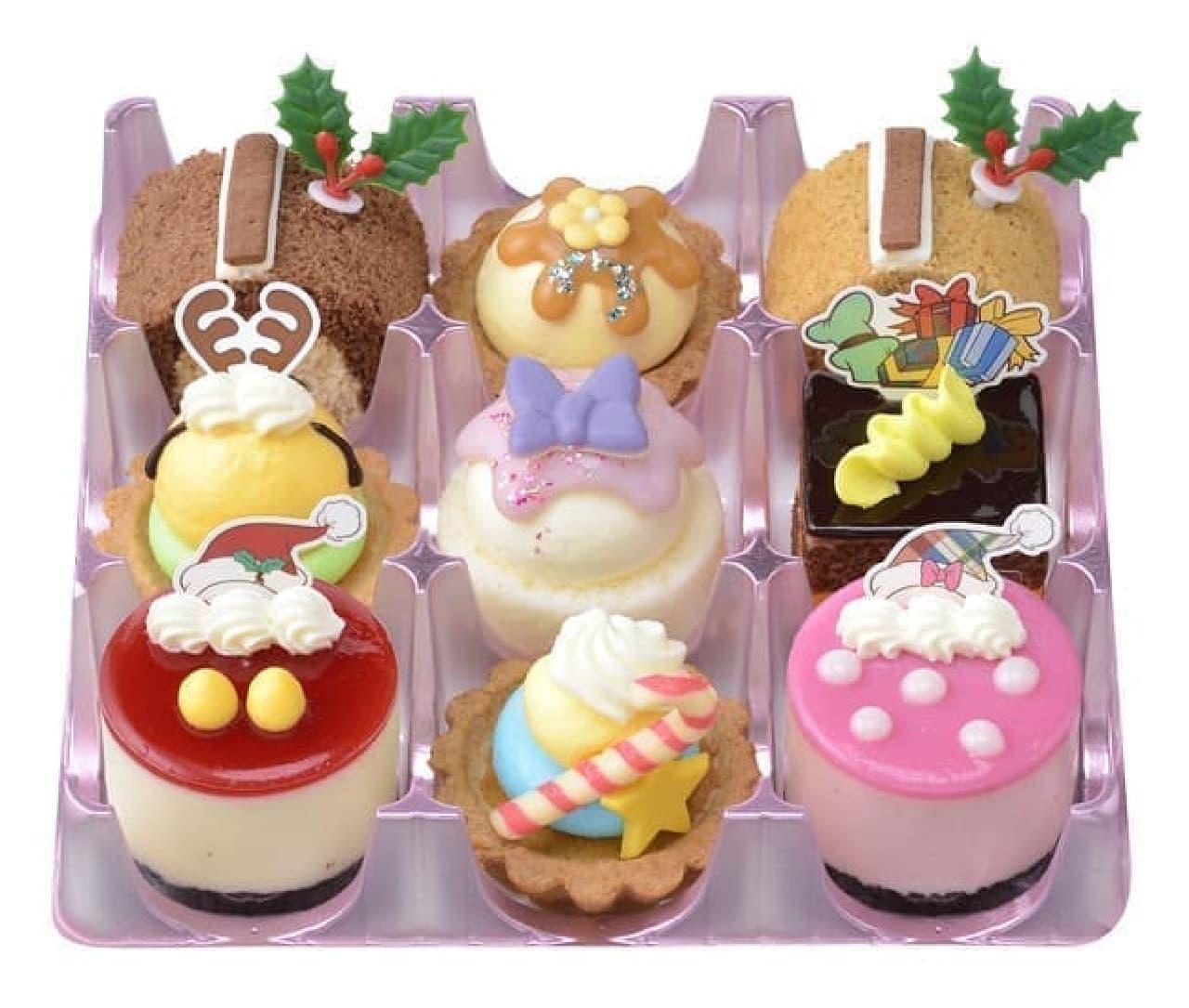 クリスマス限定「 <ディズニー>クリスマス・コレクション」銀座コージーコーナーより
