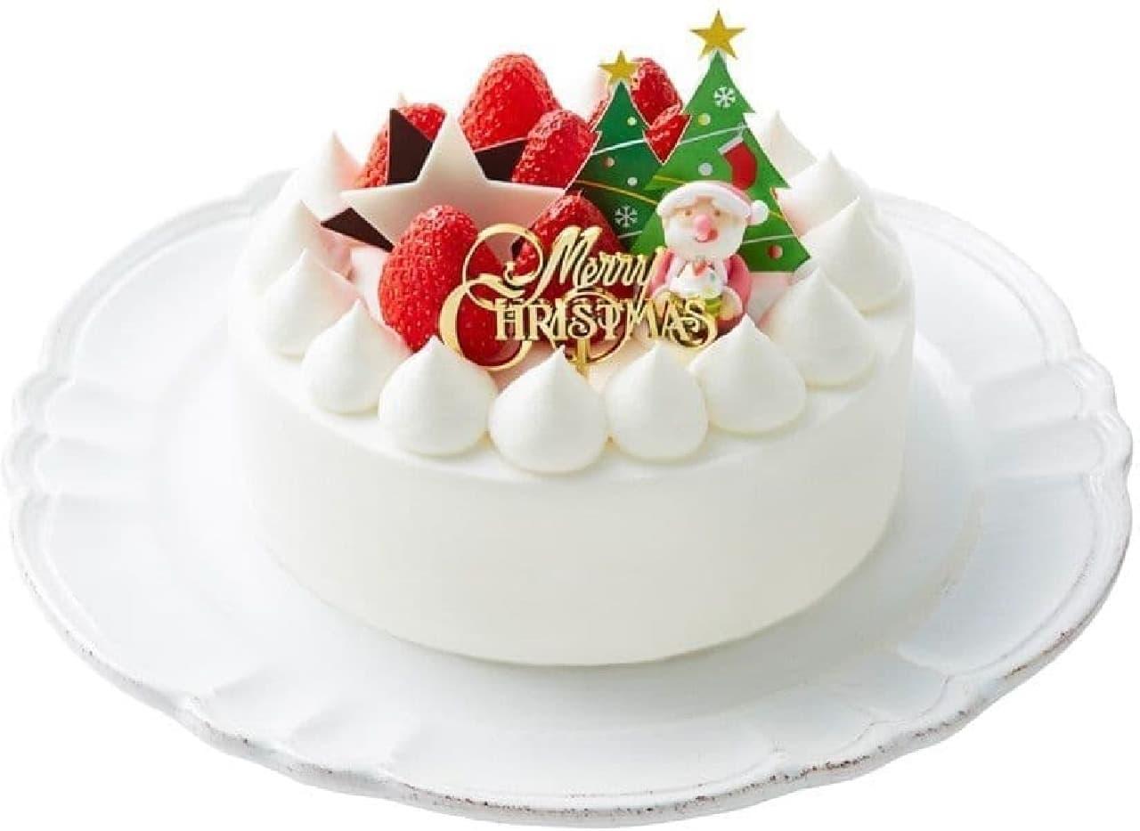 モロゾフ「クリスマス ストロベリーショートケーキ」