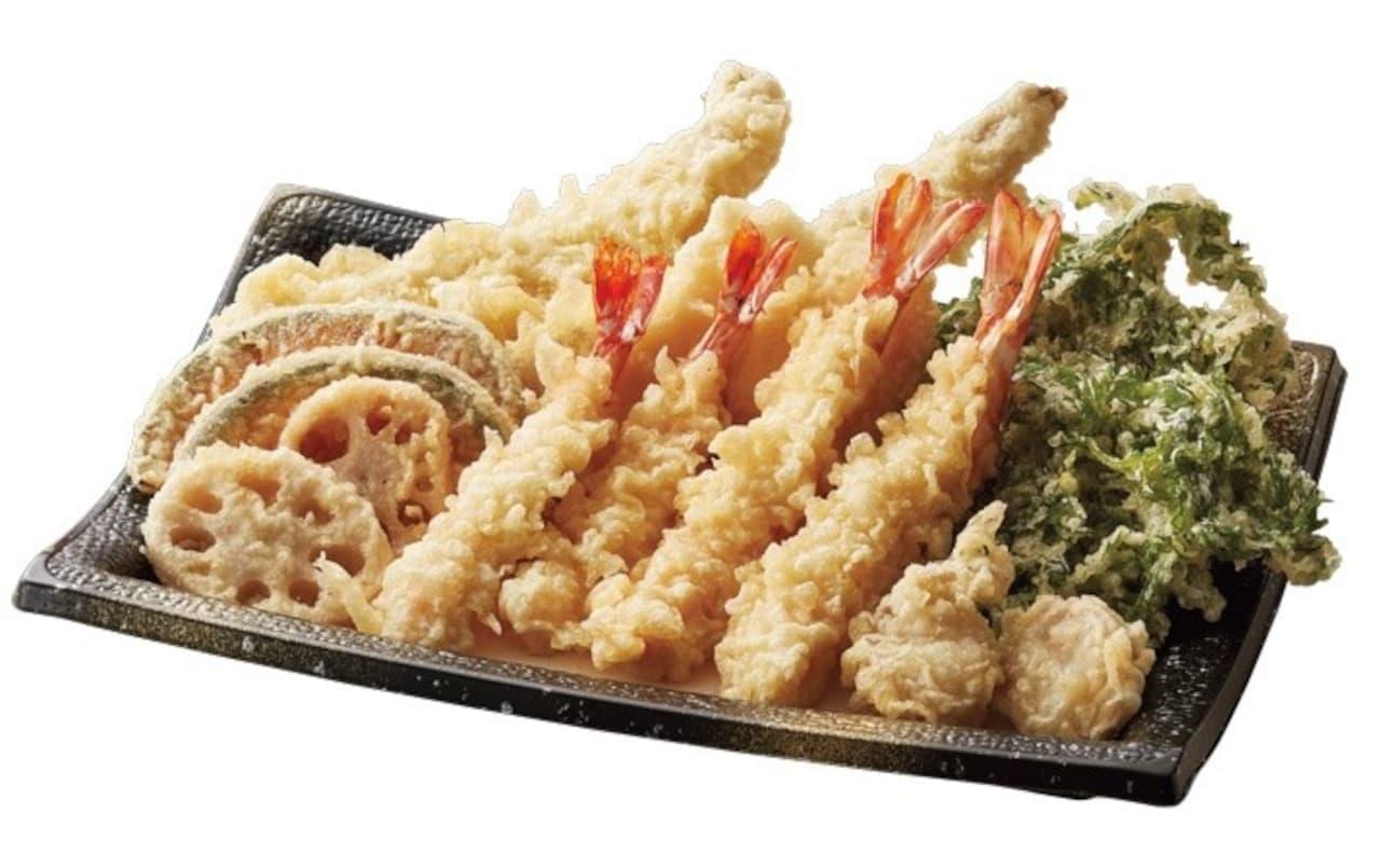 てんやに「年越し天ぷら」