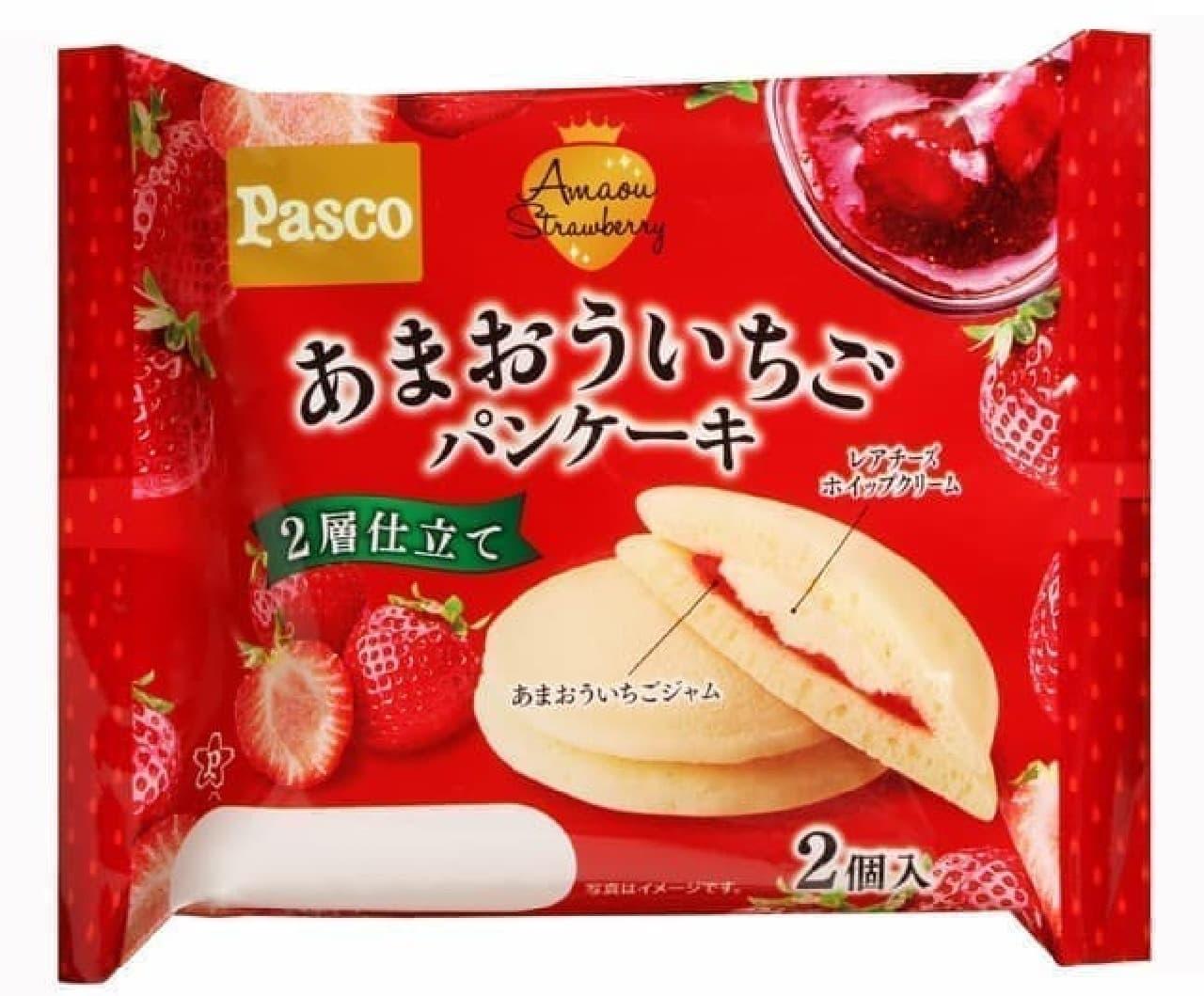 Pasco「あまおういちごパンケーキ2個入」