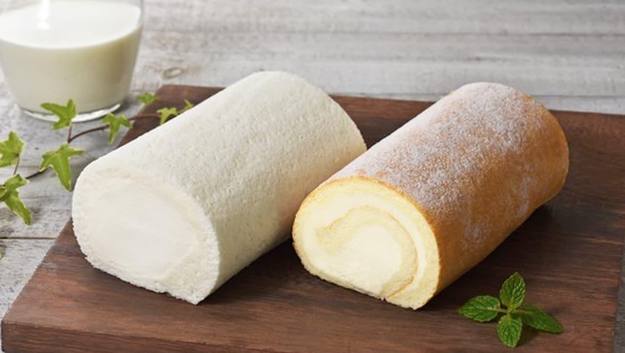 「北海道しあわせロール(ミルク/チーズ)」白い恋人のISHIYAから