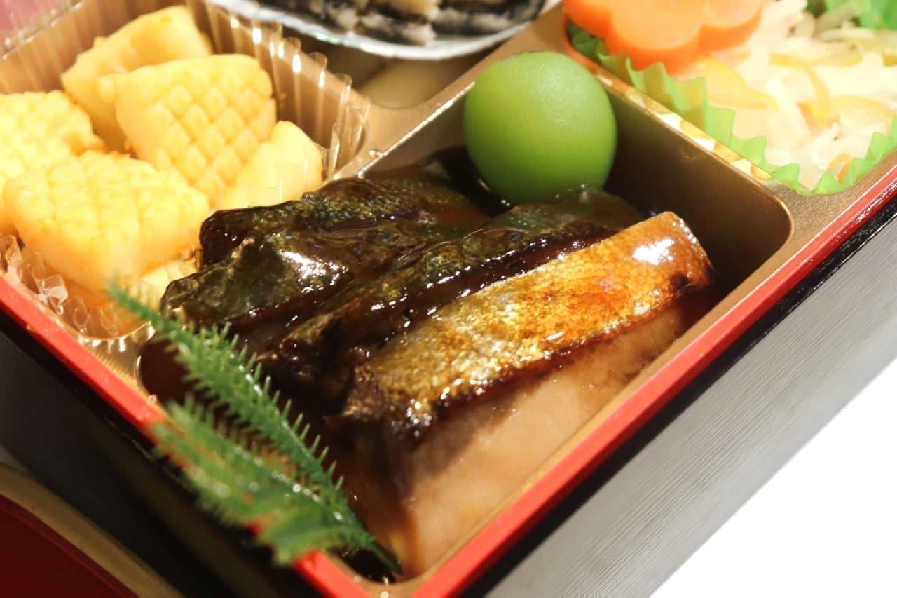 イトーヨーカドーのおせち「芝花 三段重」の自慢の一品「ぶり照焼」