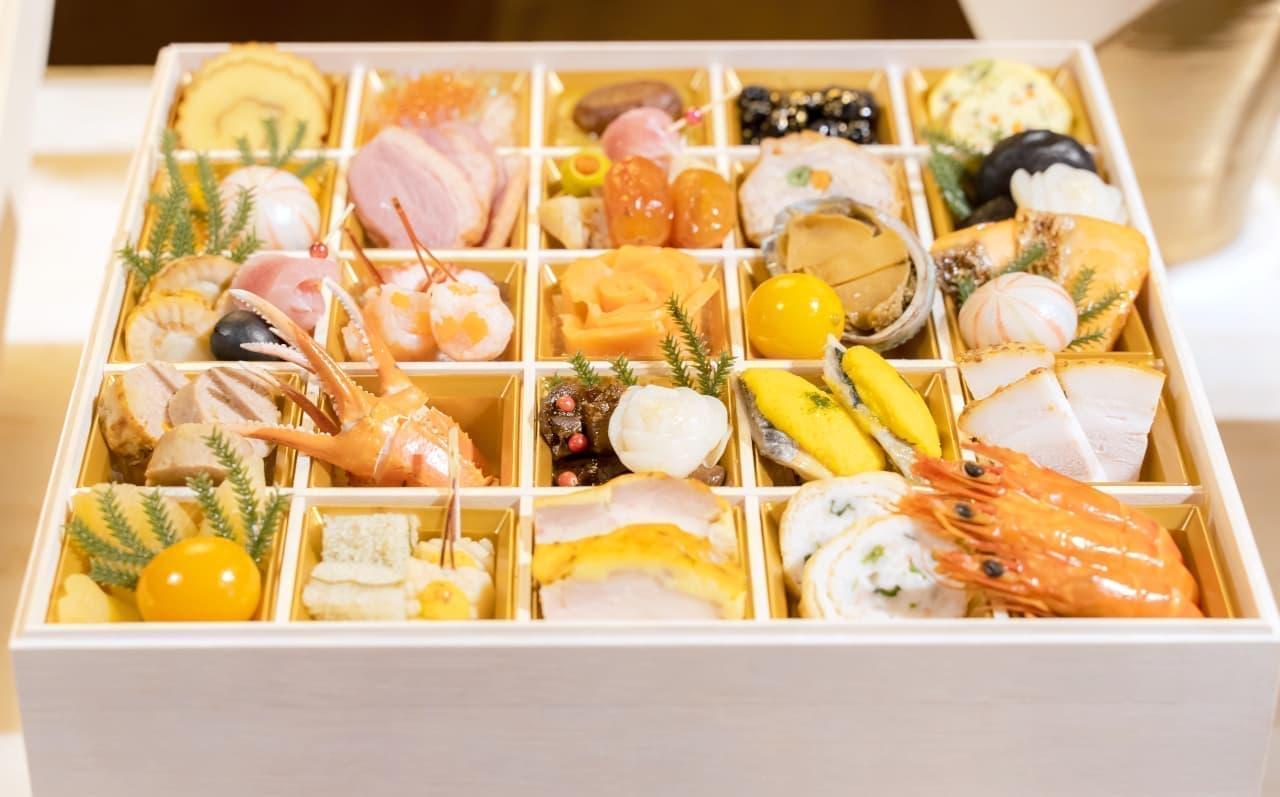 イトーヨーカドーのおせち「新春を祝う彩り玉手箱」