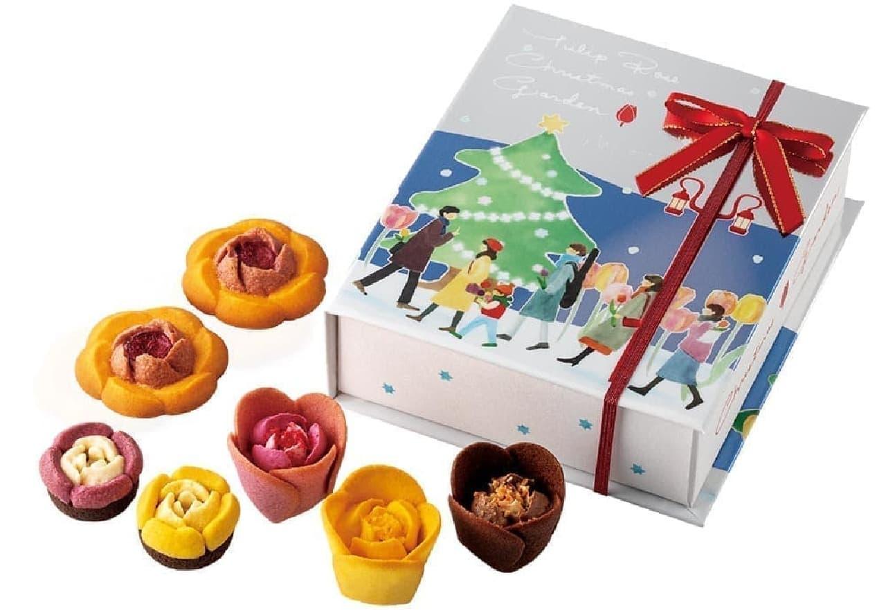 チューリップローズ クリスマスガーデン
