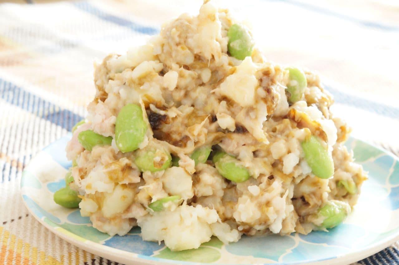 海苔の佃煮ポテトサラダ