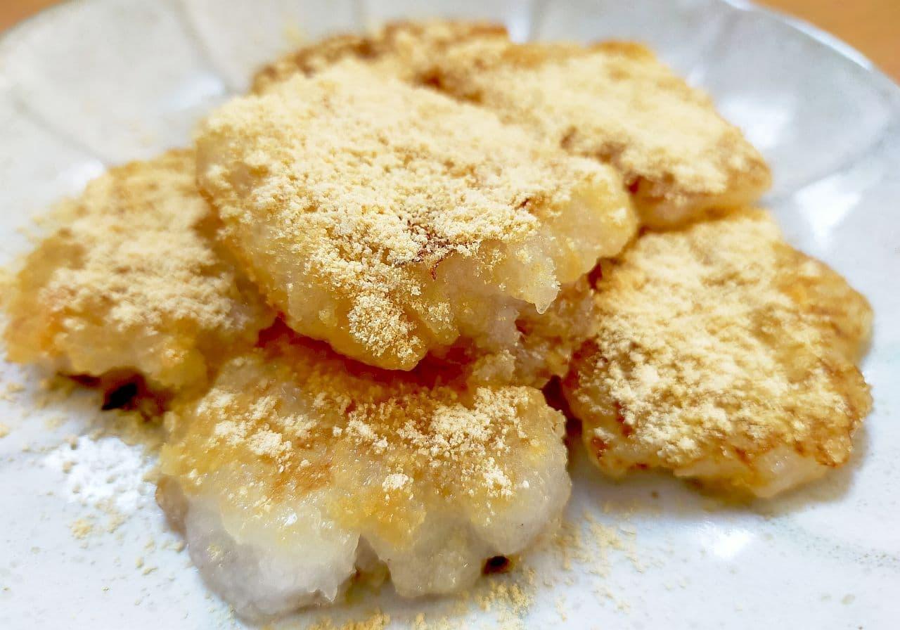 ぷるぷるモチモチ「きな粉大根もち」のレシピ