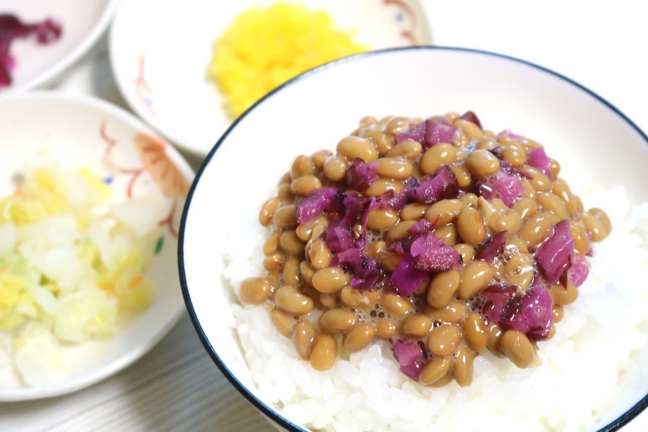 納豆の漬物ちょい足しレシピ