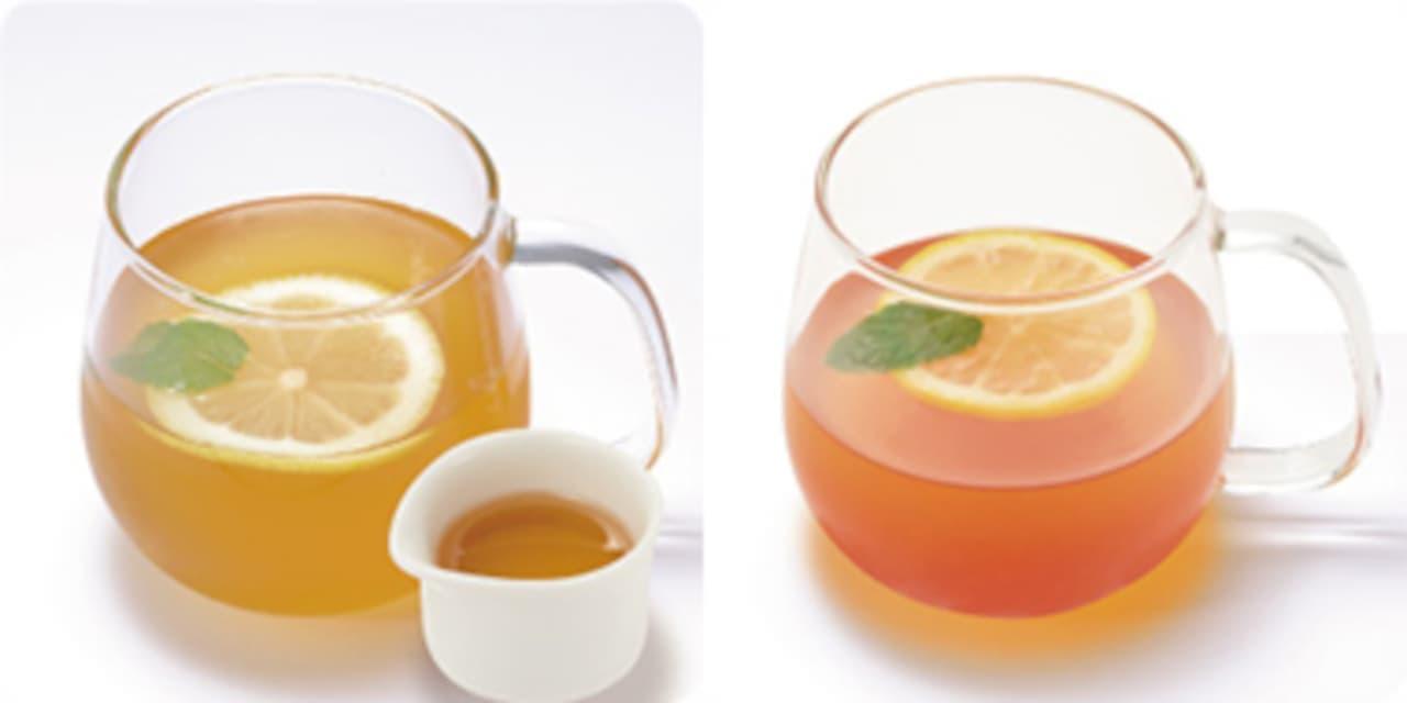 モリバコーヒーに温まる「ホットレモネード」2種