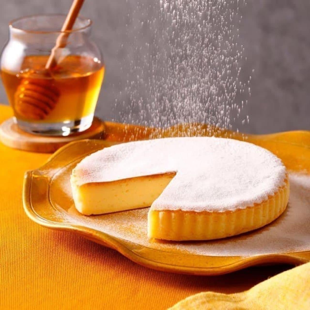 チーズガーデン東京ソラマチ店限定「東京ハニーチーズケーキ」