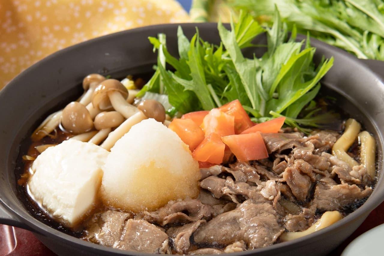 ガスト「あったか特製鍋とテッパン肉料理」