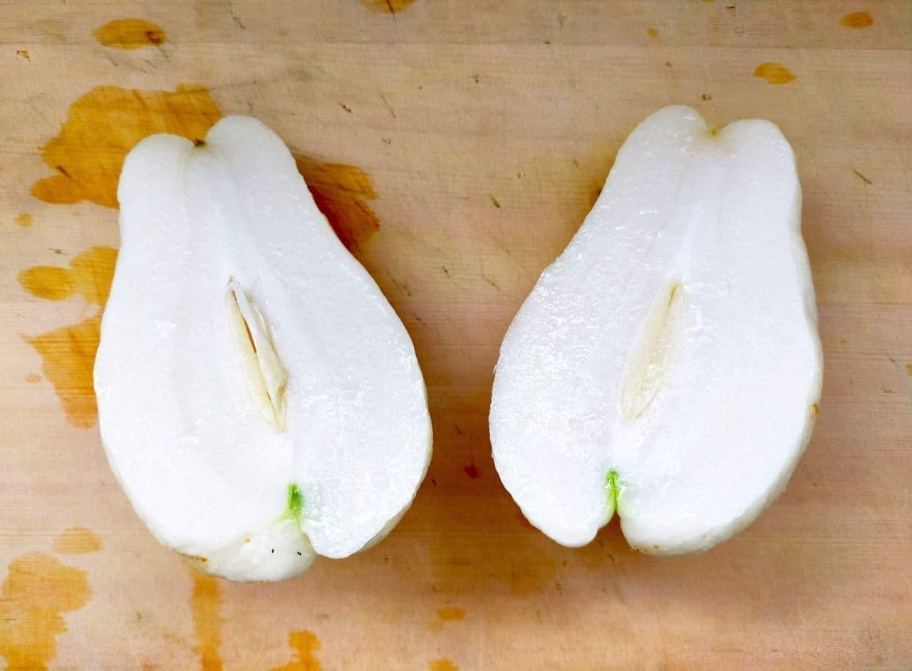 ハヤトウリのきんぴらレシピ