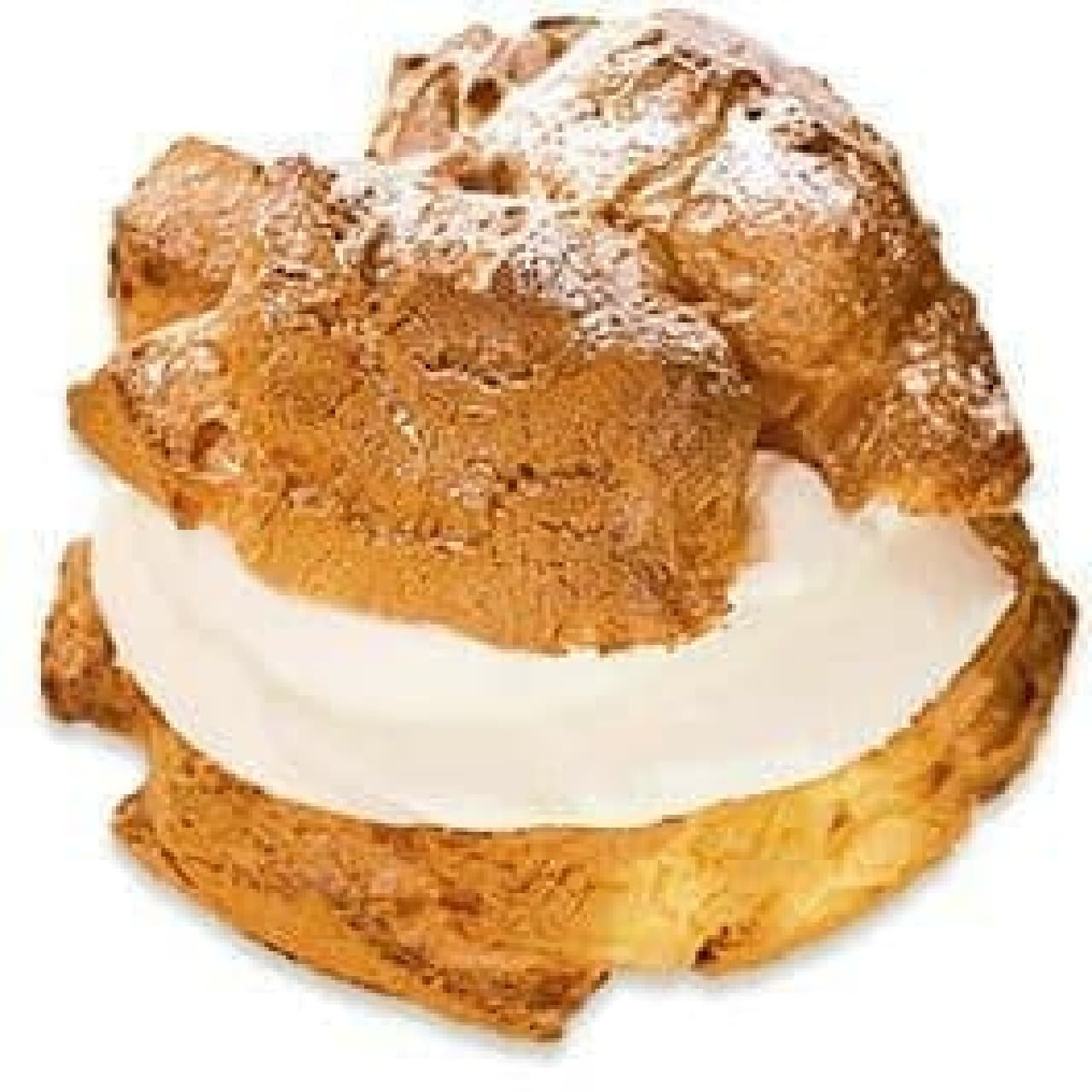 不二家洋菓子店「窯焼きダブルシュークリーム」