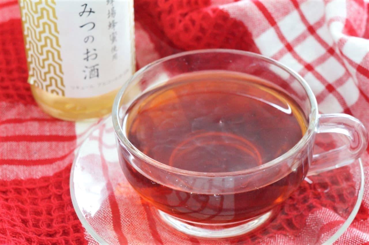 養命酒製造「はちみつのお酒」紅茶割り