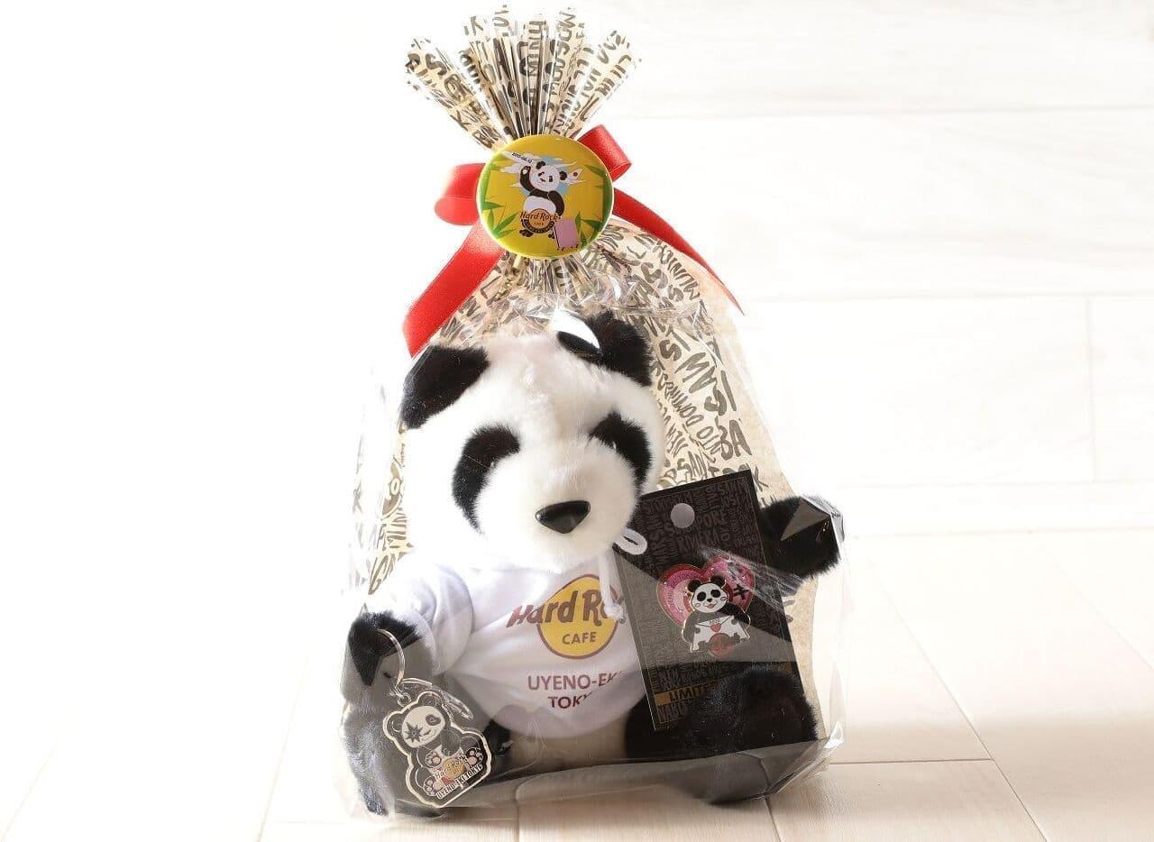 ハードロックカフェ上野駅東京店に「Good Luck Panda キャンペーン」