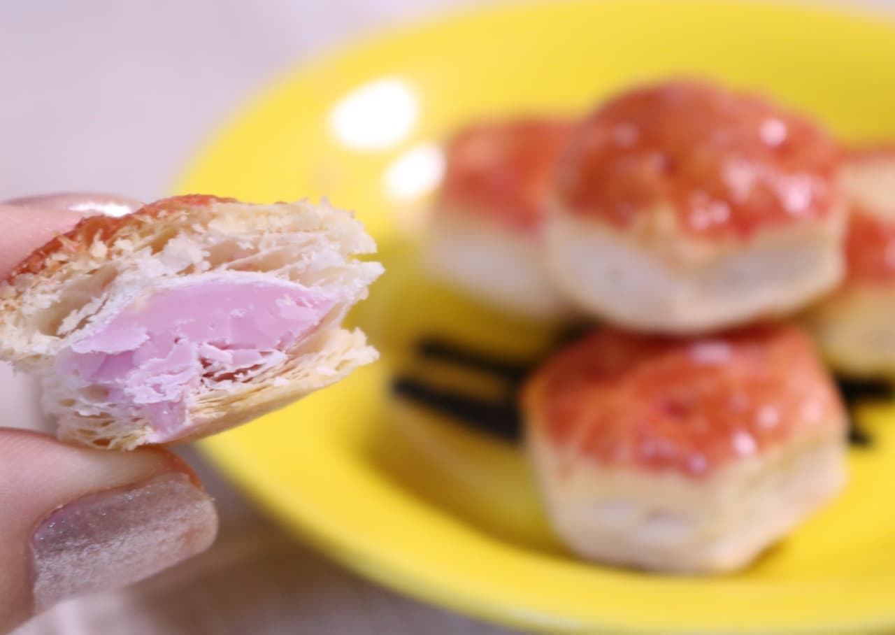 ロッテ「パイの実<苺のプレミアムタルト>」