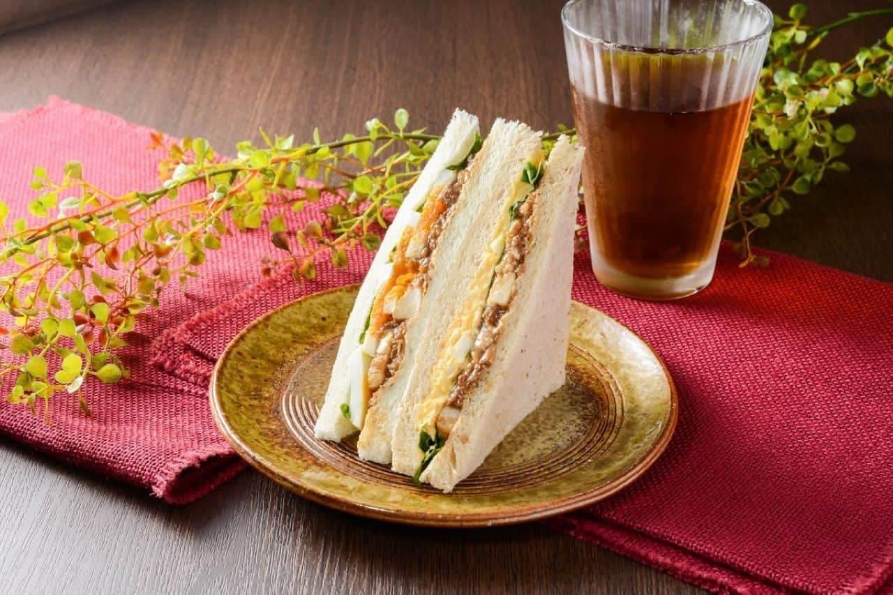 ナチュラルローソン「台湾魯肉風サンド」