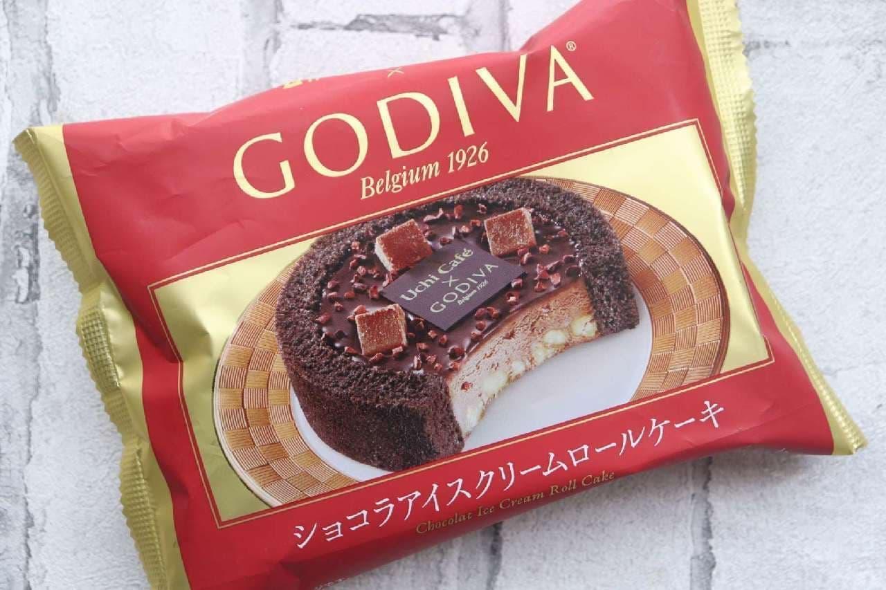 Uchi Cafe×GODIVA ショコラアイスロール