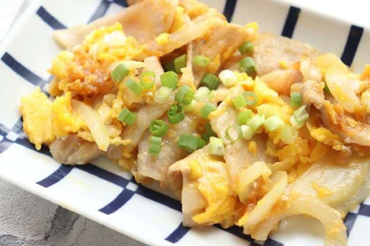 「豚バラと卵の中華炒め」レシピ