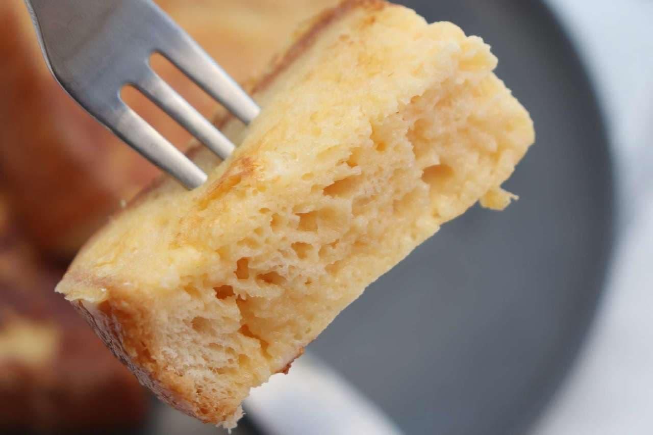 溶かしアイスで絶品「フレンチトースト」