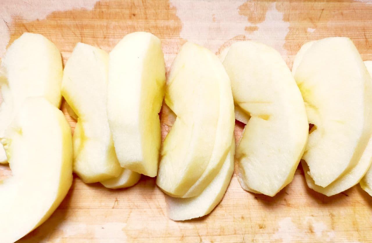 ステップ1 シャキシャキ長持ち!りんごの保存方法