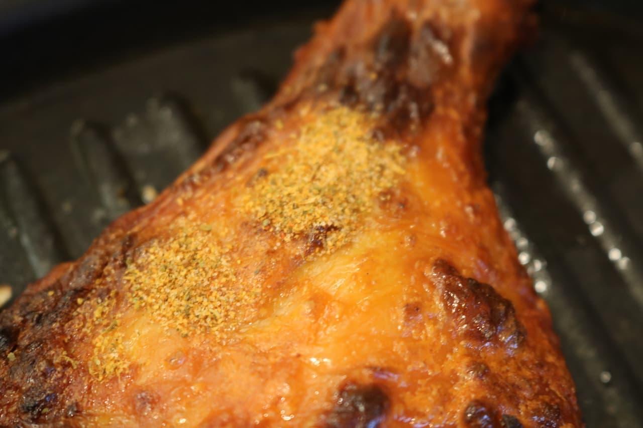 サイゼ「骨付きももの辛味チキン」