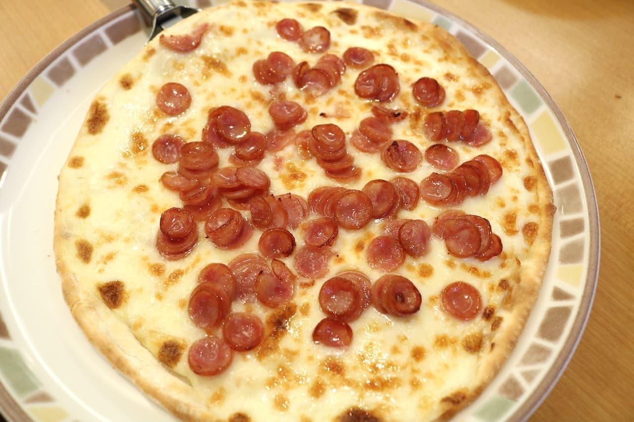 サイゼ「ソーセージピザ」