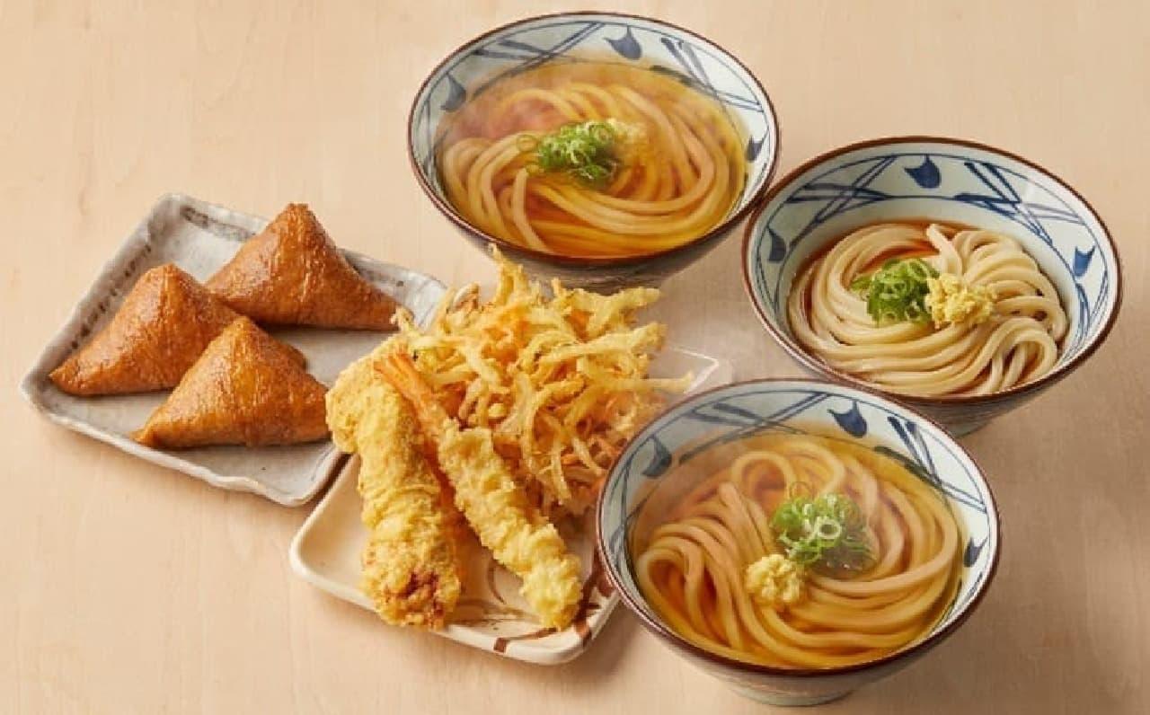 丸亀製麺「まんぷく祭り」キャンペーン