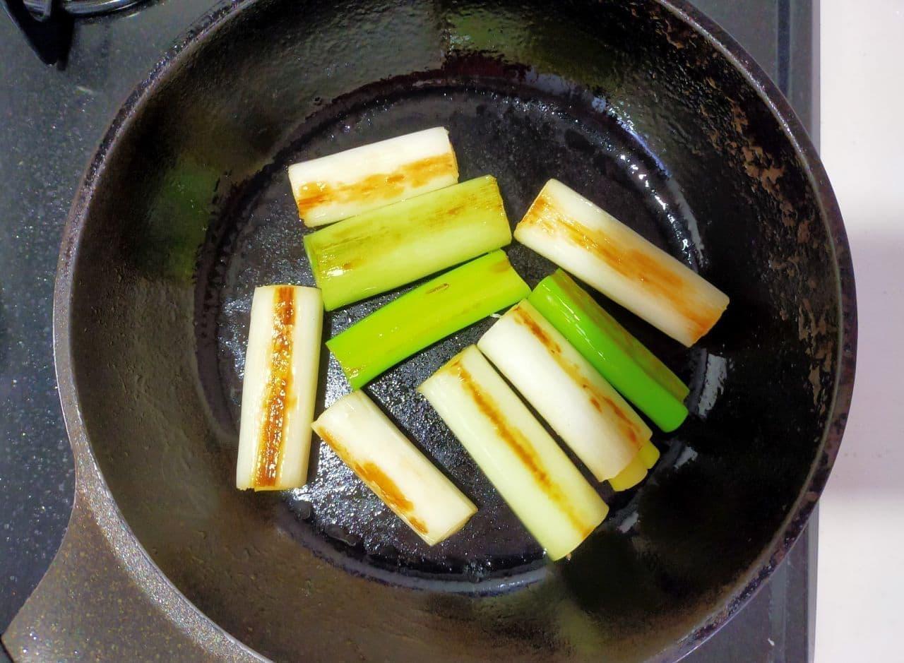 「ねぎ海苔チーズ焼き」レシピ