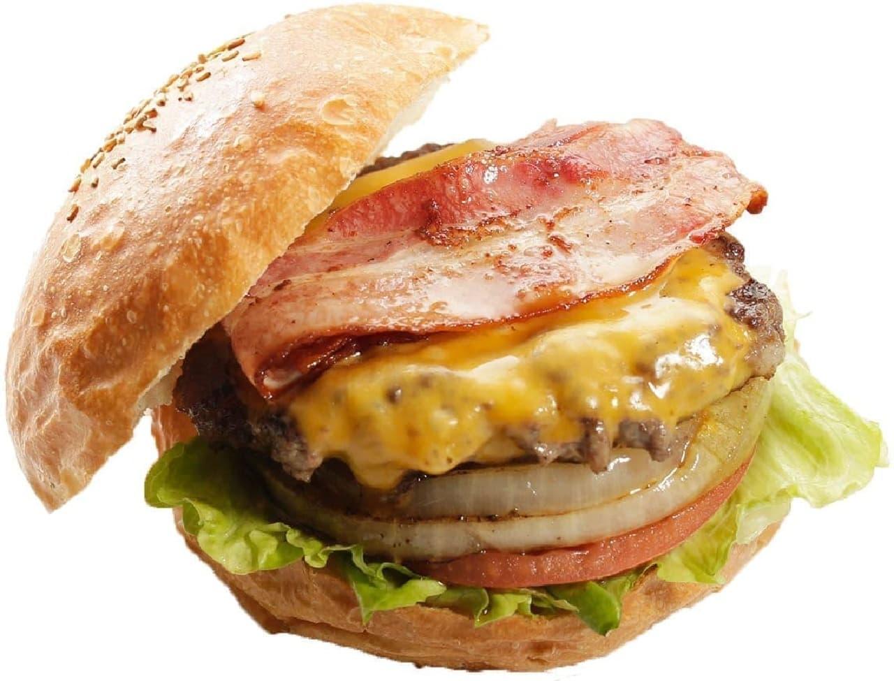 Ju the burger(ジューザバーガー)「バーベキューバーガー」