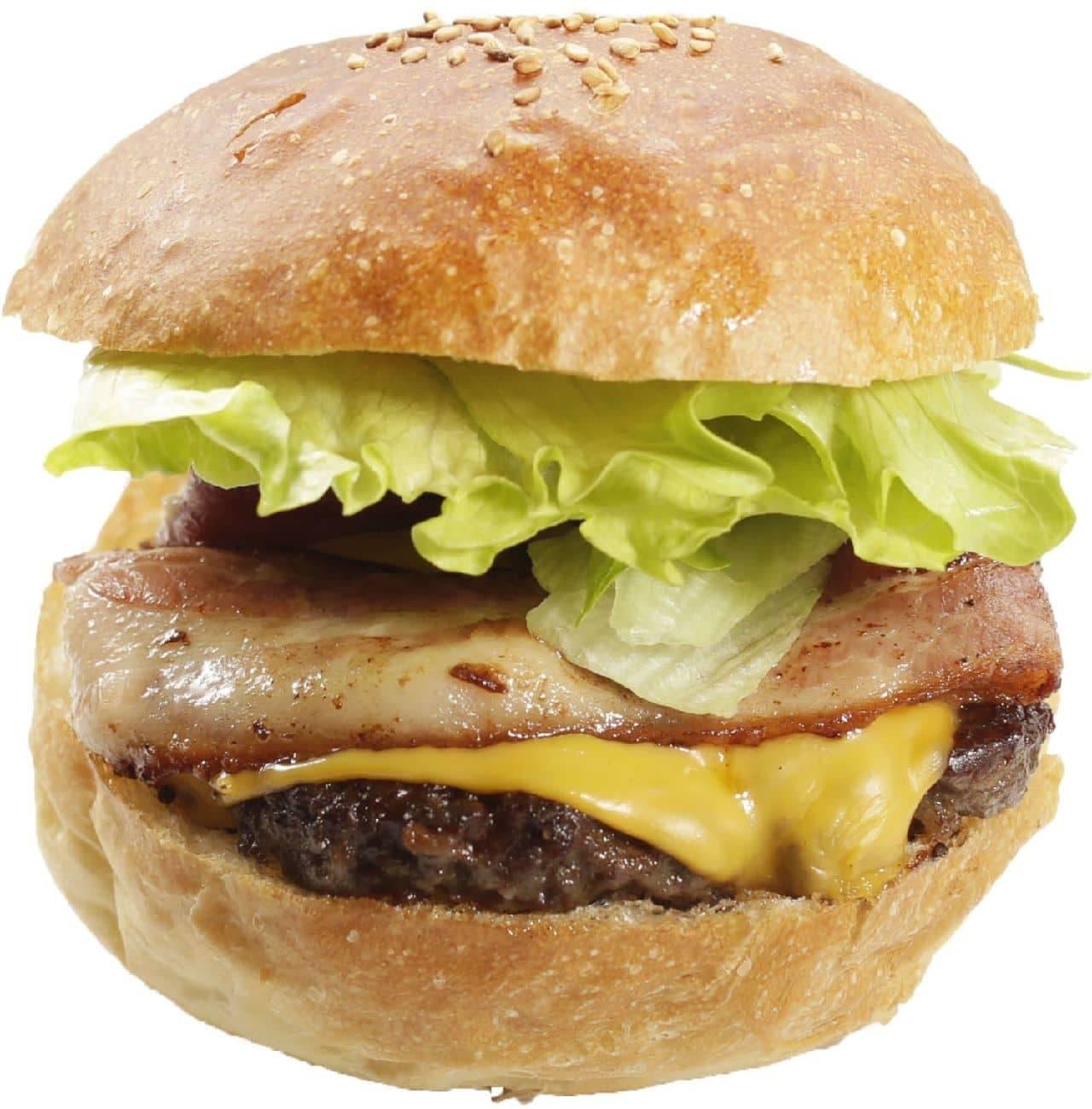 Ju the burger(ジューザバーガー)「ベーコンチーズバーガー」