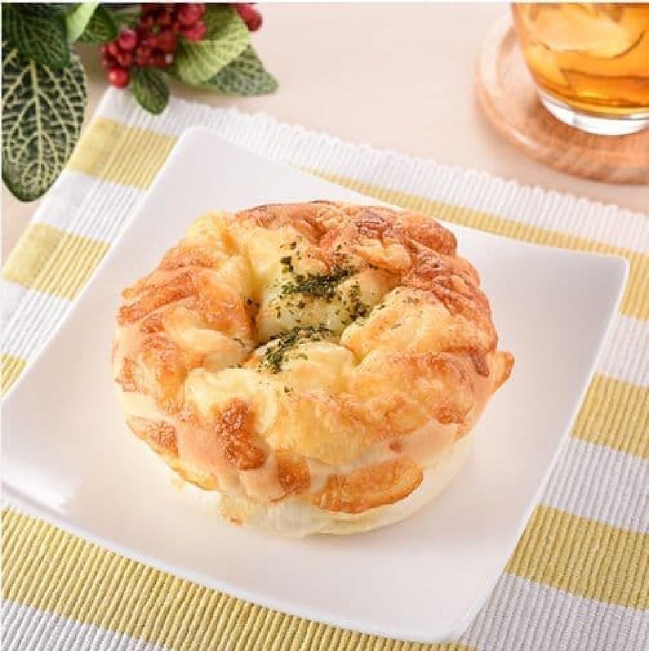 ファミリーマート「ツナ&チーズパン」