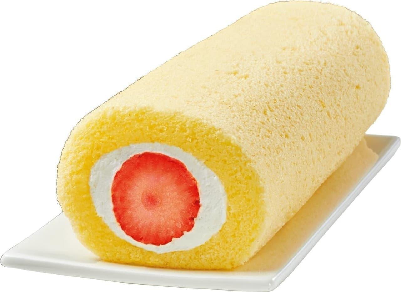 ローソン「節分 ロール(苺&バナナ)」