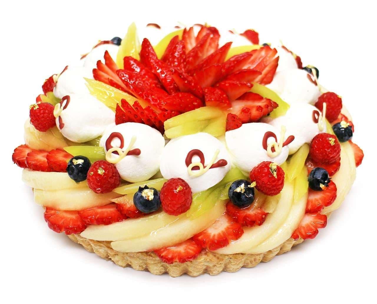 カフェコムサ新春ケーキ