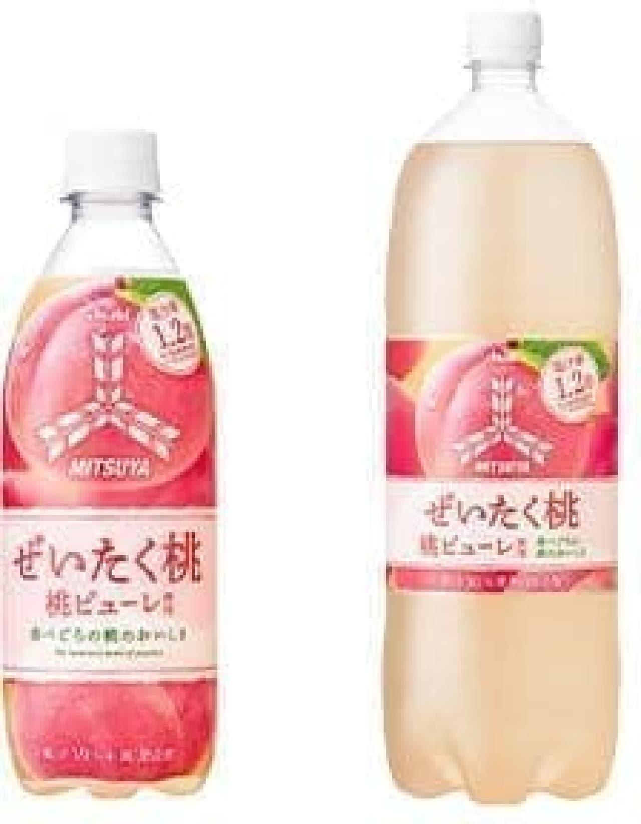 アサヒ飲料「『三ツ矢』ぜいたく桃」
