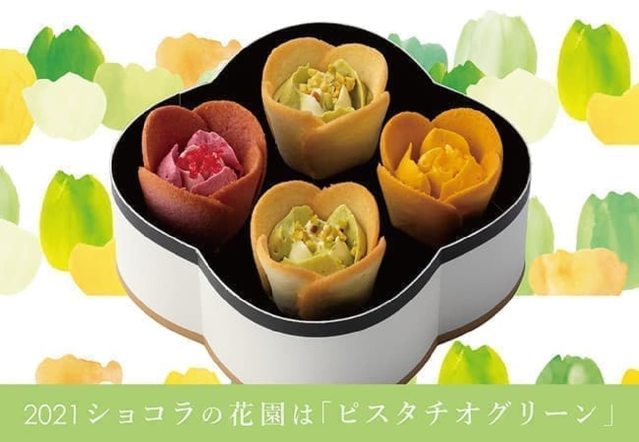 TOKYOチューリップローズ「チューリップローズ 4個入 プレシャス」