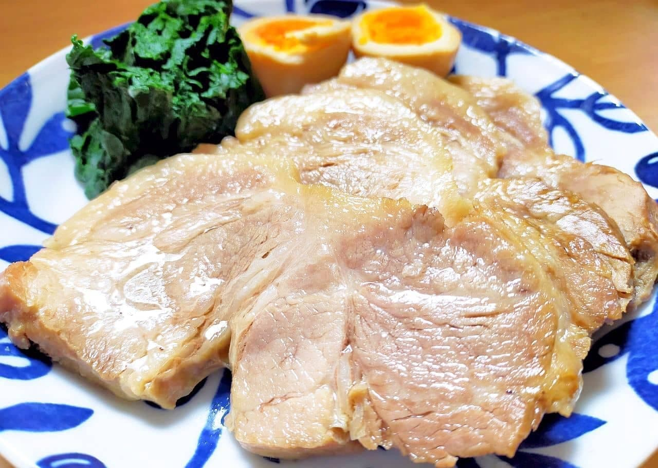 「ゆで豚の醤油漬け」レシピ