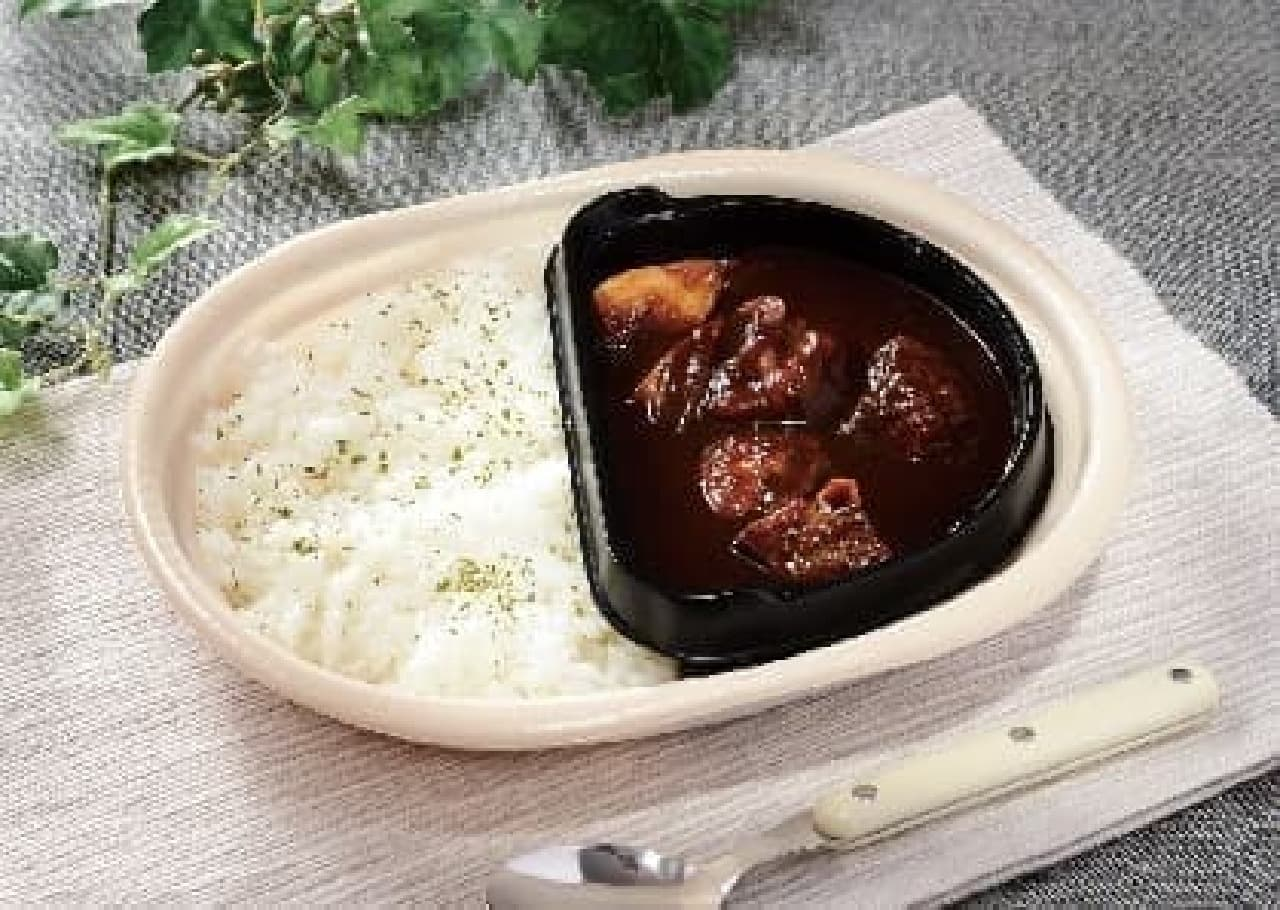 ローソン「洋食屋ヨシカミ監修 ビーフシチューのお弁当」