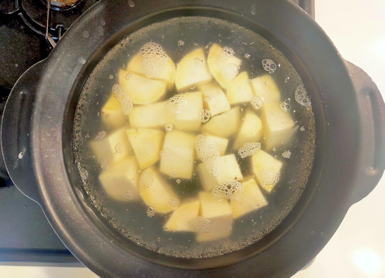 「りんごきんとん」簡単レシピ