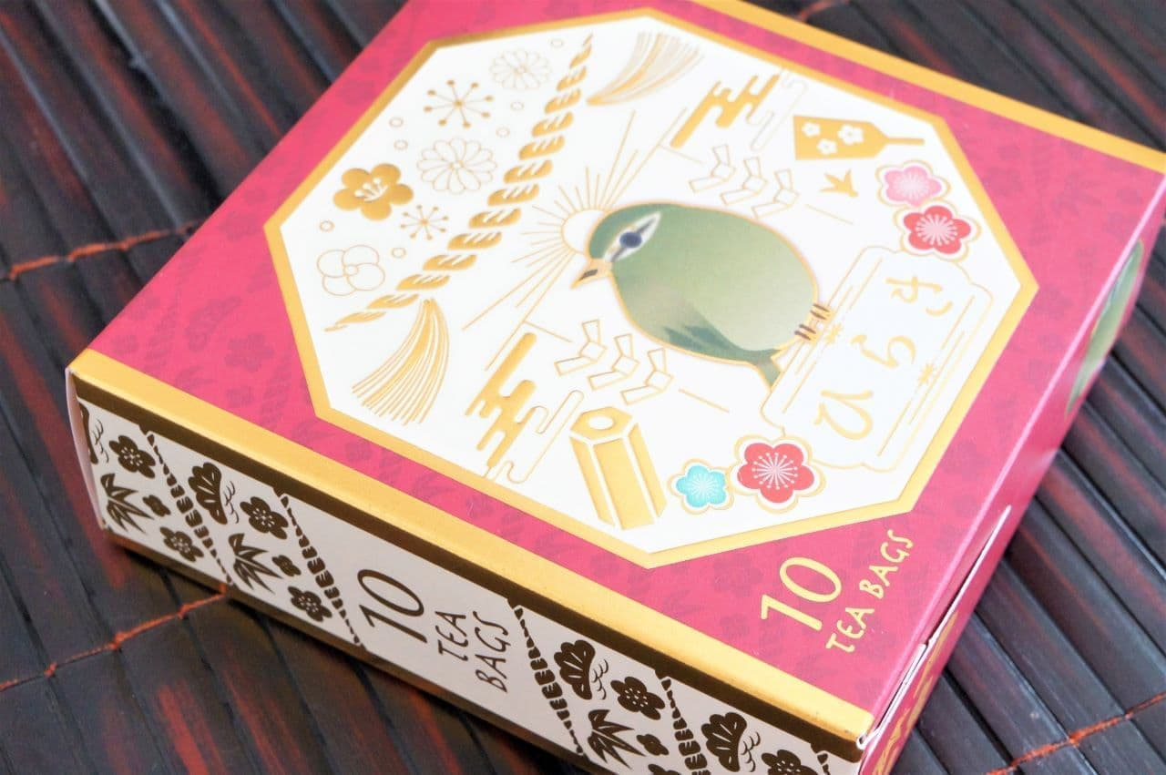 ルピシア「ひらき - ティーバッグ 10個限定デザインBOX入」