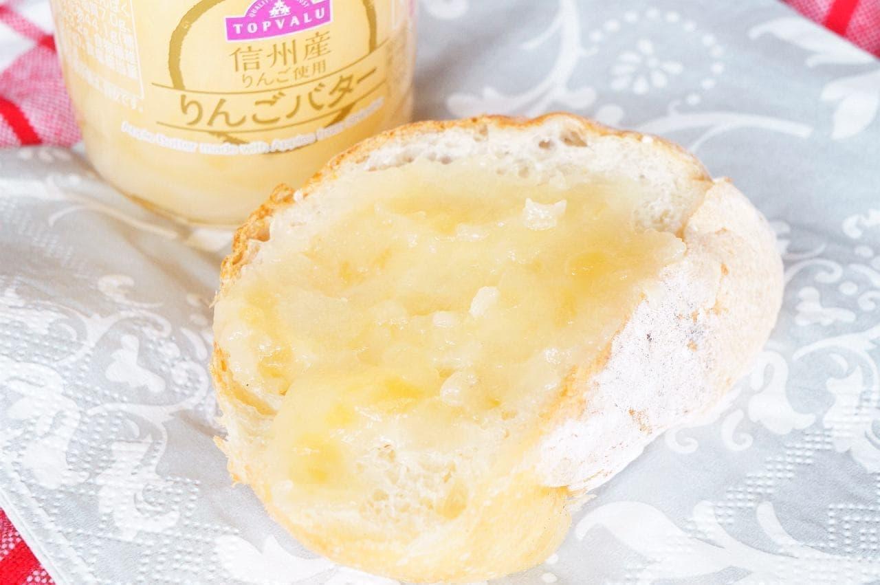 トップバリュ「信州産りんご使用 りんごバター」