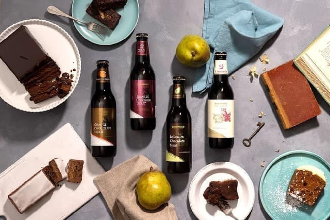 サンクトガーレン「チョコレート風味のビール」