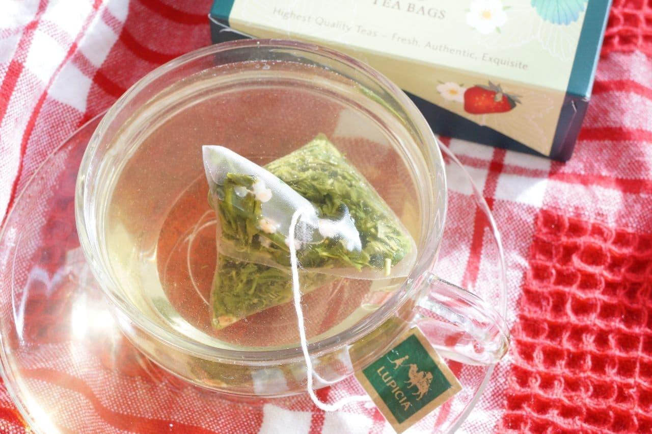 ルピシア「とちおとめ ~苺の緑茶~」