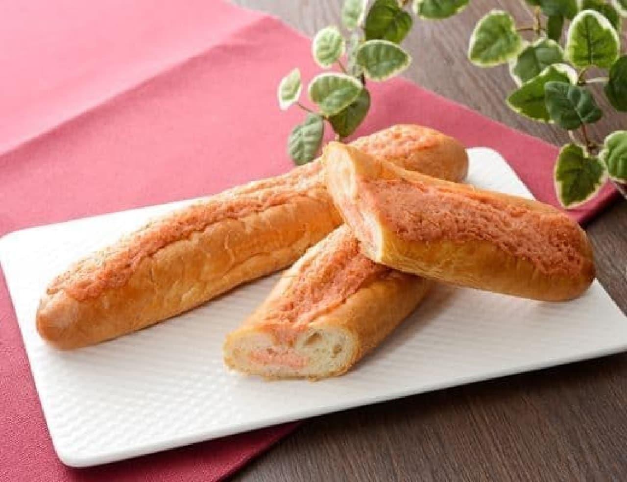 ローソン「マチノパン めんたいフランス」