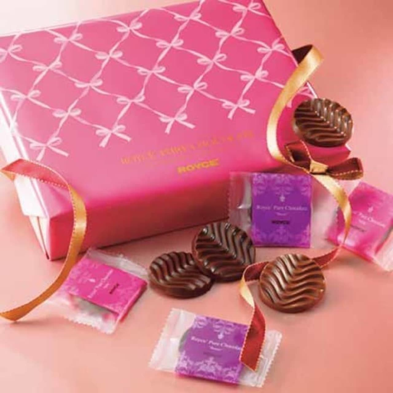 ロイズ「ピュアチョコレート[スイート&ミルク]」